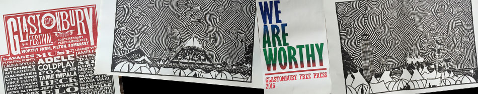 GET GLASTONBURY 2016 T-SHIRTS & POSTERS IN OUR SHOP
