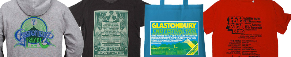 Check out the retro poster T-shirts and bags in our shop