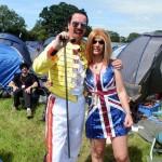 Me (Freddie Mercury) and Kathryn (Ginger Spice)