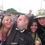 haveing fun at the best festival ever GLASTONBURY X