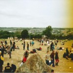 View from the Stone Circle.