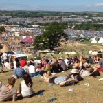 THAT view - the one from above the Park Stage - it gets me every time!!