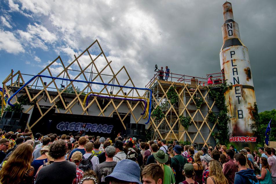 Glastonbury Festival in the UK 2016