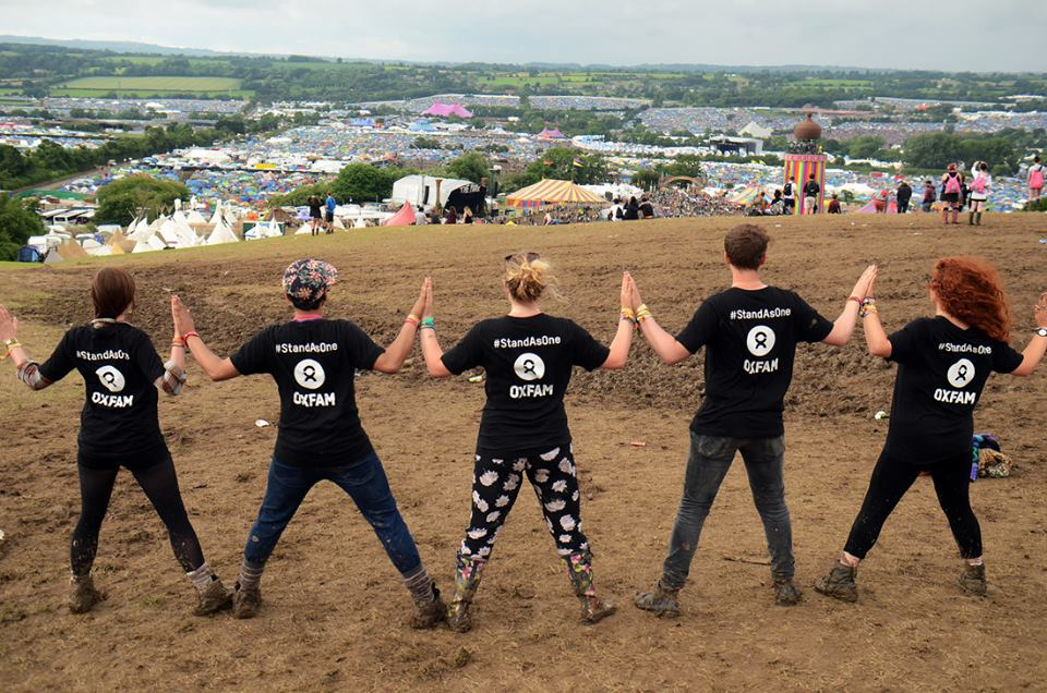 stand as one glasto