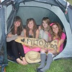 me and friends and pilton,having funnnn, come rainor shine :) z