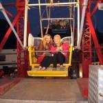 Round & round the ferris wheel we go round