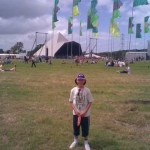 Charlie enjoying his 1st Glastonbury