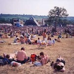 Pyramid stage looking very 70`s.