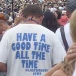 Glastonbury Mantra!!
