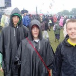 It would'nt be Glastonbury without a little bit of rain.
