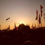 Sunset on The Pyramid...Kasabian..2009