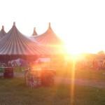 John Peel stage Sunset