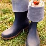International duck with wellies