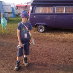 Only 10 but a Glasto veteran.