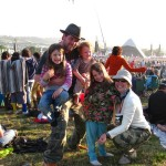 Our first Glastonbury!