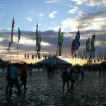 Dance Village at Sunset...
