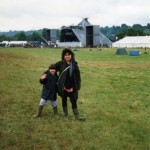me and my mother age 6, It was amazing!!
