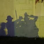 Shadow puppetry at Shangri-la!