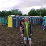 Our first Glastonbury and man did it open our eyes !! Fabulous depite the rain and mud and festival back.