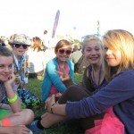 check us out in our neon glasto outfits....tilly you're gorgeous....cant wait till next year!