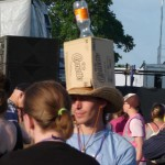 If in doubt stick a cornetto box on your head..