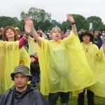 Abba in the rain....