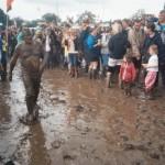 Crazy mud slider...