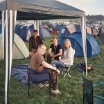 Our camp (Rich, Mike Helen and Foxley)  Good times..