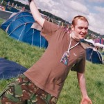 Rich loving the festival...I miss you bro, rest in peace