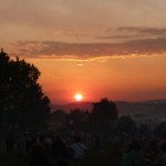 Wednesday evening sunset