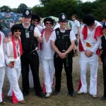 Elvis' police guard!