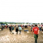Friday was the only day we needed wellies for the gigs!!