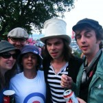 We were 'Alright' after bumping into Supergrass!