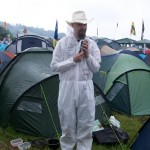 Proved positive you can get away with wearing anything at the festival