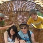 Sitting in a lovely hammock