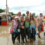 Millseee and friends in Glorious mud