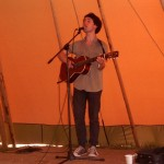 Conor O'Brien giving a solo performance in The Crows nest in The Park.