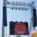 Willie Nelson on The Pyramid Stage