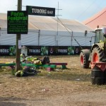 Hey Glasto, This one is for all the workers at your amazing festival and this scene caught my eye on Monday morning.