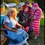 Alice, the Mad Hatter and bagpuss ;-)