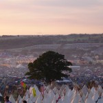 sunset tipi village...with david,helen,caz and olly, also liat power nap and aunt ness !
