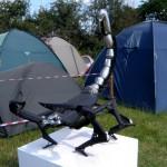 Scorpion sculpture.