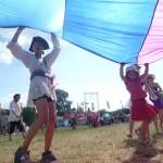 Pirate fun in the circus field.