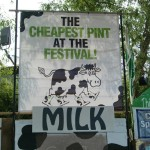 Glastonbury milk