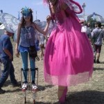 Seirian peace fairy meets pink fairy