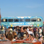 'the cider bus in all it's glory......and sunshine!!!