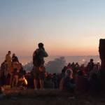 Stone Circle before dawn