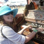 Playing the funeral organ