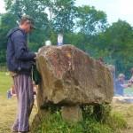 At the Stone Circle.