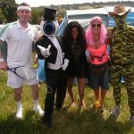 another normal day at Glastonbury